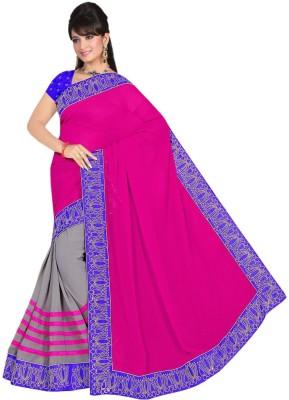 Rinkle Embriodered Bollywood Jacquard Sari