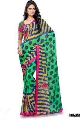 Hi-Choice Printed Fashion Synthetic Sari