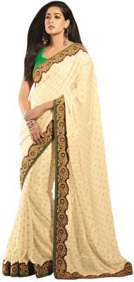 Vipul Saree Embellished, Embriodered Fashion Viscose Sari