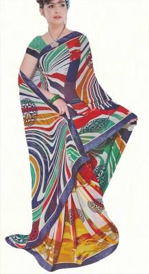 Agarwal Fashions Printed Fashion Georgette Sari