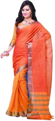Studio Shringaar Striped Mooga Art Silk Sari
