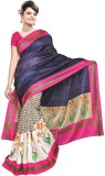 Krishna Ki Leela Solid Fashion Art Silk ...