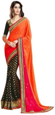 Jay Belnath Creation Embriodered Fashion Georgette Sari