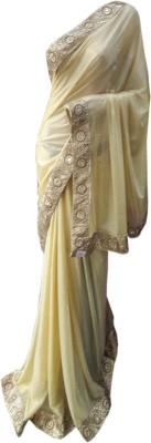 NEW LOOK DESINER Plain Fashion Lycra Sari