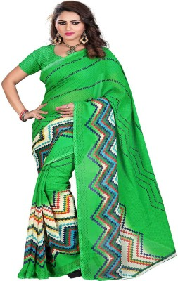 Araja Printed Daily Wear Georgette Sari