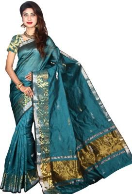 Glamorous Lady Solid Banarasi Banarasi Silk Sari