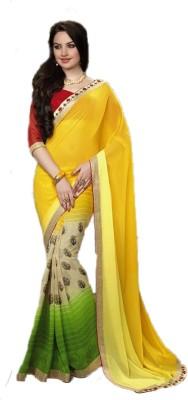 Varsiddhi Fashions Self Design Fashion Georgette Sari