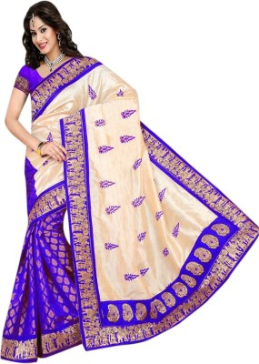 Fashion Designer Sarees Printed Chanderi Chanderi Sari