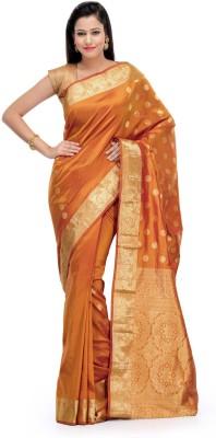 Fabroop Self Design Fashion Silk Sari