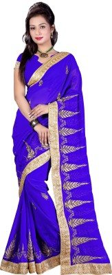 Sanskar Fashion Self Design Bollywood Chiffon Sari