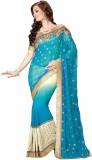 Desi Look Embroidered Fashion Chiffon Sa...