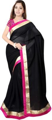 Sixmeter Striped Fashion Chiffon Sari