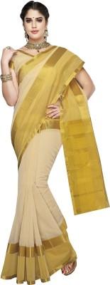 Ishin Solid Fashion Cotton Sari