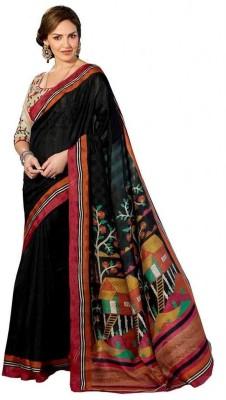 Raul Zone Printed Bhagalpuri Cotton Sari