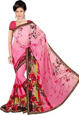 Janya Self Design Garad Georgette Sari