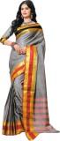 Kaveri Solid Fashion Cotton Saree (Pack ...