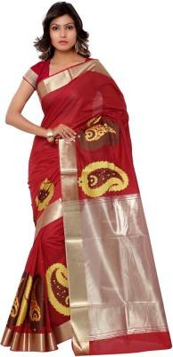 Saara Self Design Fashion Silk Sari