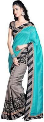 KESHUBHAI Printed Fashion Art Silk Sari