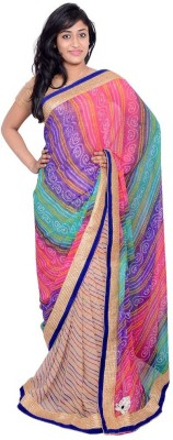MSS Printed Bollywood Georgette Sari