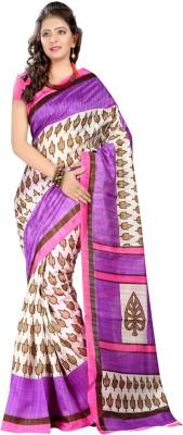 Rinkey Sarees Printed Bhagalpuri Silk Sari