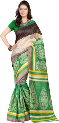 Geeta Sarees Printed Fashion Silk Sari
