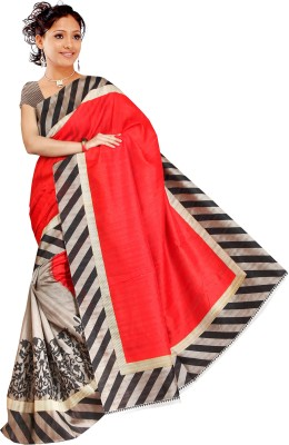 Muta Fashions Embriodered Bollywood Synthetic Georgette Sari