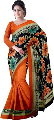 Komal Sarees Self Design, Printed Bollywood Art Silk, Synthetic Sari