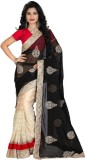 Divy Embroidered Bollywood Net Saree (Be...