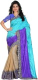 Divy Embroidered Bollywood Lycra Saree (...
