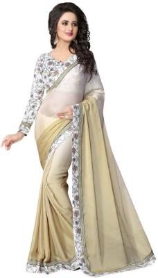 Urban Vastra Plain Bollywood Chiffon Sari