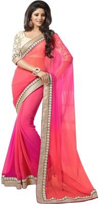 Sundari Fashion Self Design Bollywood Handloom Cotton Sari