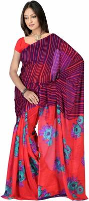 Monika Silk Mill Printed Daily Wear Georgette Sari