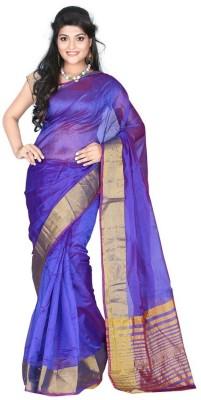Youth Mantra Plain Bollywood Art Silk Sari