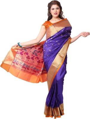 Aruna Fashions Self Design Paithani Art Silk Sari