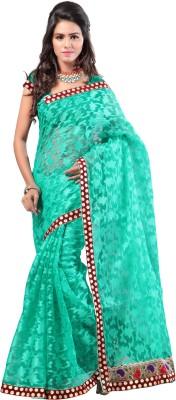 Hamsini Self Design Bollywood Jacquard Sari
