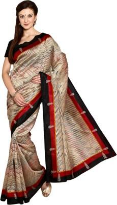 Thamaraigrandies Printed Fashion Brasso Fabric Sari