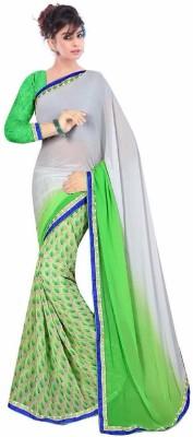 aadinathdesigner Self Design Bollywood Georgette Sari