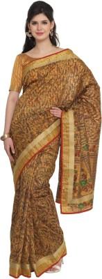 Moiaa Printed Fashion Tussar Silk Sari