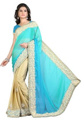 Saara Embriodered Fashion Chiffon Sari