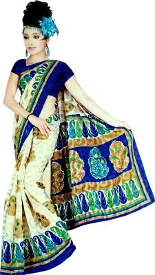 Thulasi Self Design Fashion Brasso Sari
