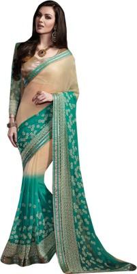 Diva Divine Embriodered Fashion Georgette Sari