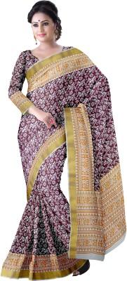 Komal Sarees Printed, Self Design Bollywood Cotton Sari