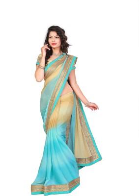 Jhenny Fabrics Embriodered Bhagalpuri Handloom Art Silk Sari
