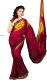 Magneitta Striped Fashion Georgette Sari