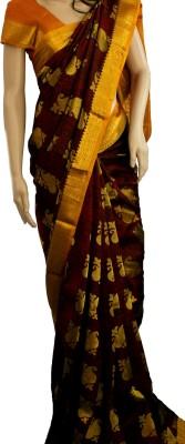 Samunnati Embellished Kanjivaram Silk Sari