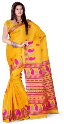 Cenizas Printed Fashion Art Silk Sari