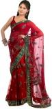Aksh Fashion Self Design Daily Wear Net ...