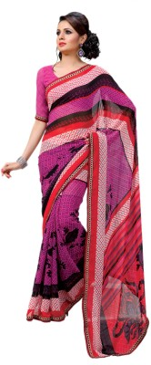 Hypnotex Printed Fashion Georgette Sari