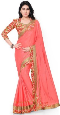 Ustaad Printed Fashion Chenille Sari