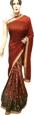 Lakmeart Embriodered Fashion Lycra Sari